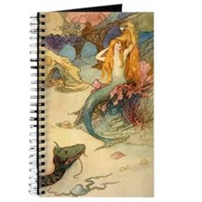 Vintage Mermaid Journal