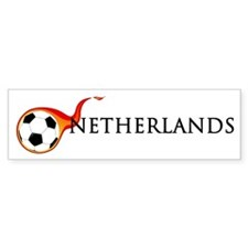 Netherlands Soccer Bumper Sticker