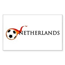 Netherlands Soccer Decal