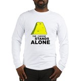 The Cheese Stands Alone - Long Sleeve T-Shirt