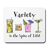 Cocktail Variety Mousepad