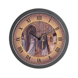 Templar Mass Wall Clock