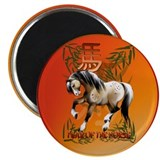 "Year Of The Horse 2.25"" Magnet (100 pack)"