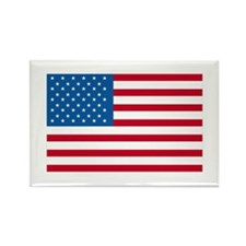American Flag Old Glory Rectangle Magnet (100 pack