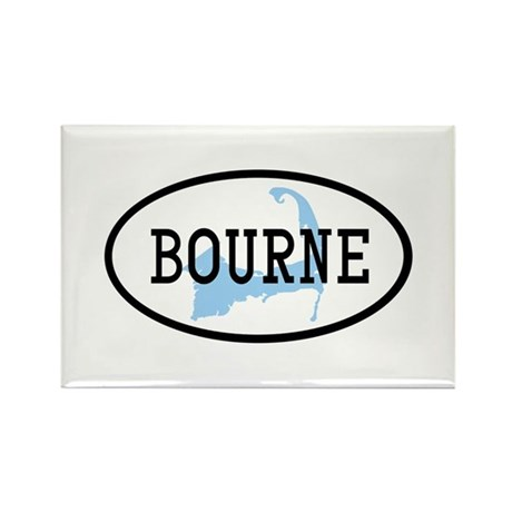 Bourne Rectangle Magnet