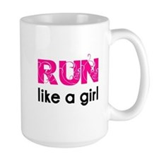 Cute Run like a girl Mug