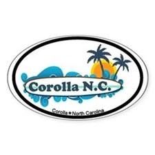 Corolla NC - Surf Design Decal