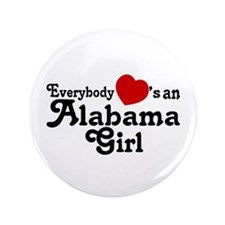 "Everybody Hearts an Alabama G 3.5"" Button"