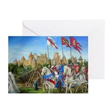 Siege of Carcassonne Greeting Cards (Pk of 10)
