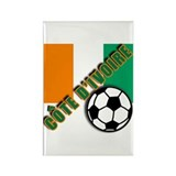 World Soccer Ivory Coast Rectangle Magnet