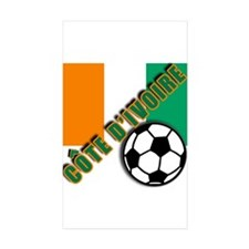 World Soccer Ivory Coast Decal