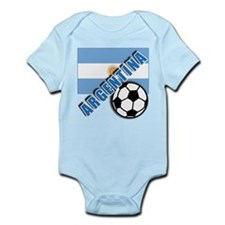 World Soccer Argentina Infant Bodysuit