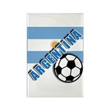 World Soccer Argentina Rectangle Magnet (100 pack)