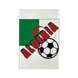 World Soccer ALGERIA Rectangle Magnet (100 pack)