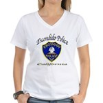 Escondido Police Women's V-Neck T-Shirt