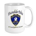 Escondido Police Large Mug