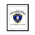 Escondido Police Framed Panel Print