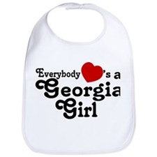Everybody Hearts a Georgia Gi Bib