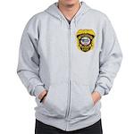 Newport MN Police Zip Hoodie