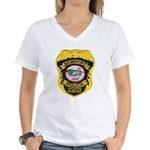 Newport MN Police Women's V-Neck T-Shirt