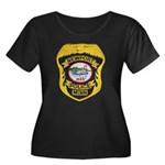 Newport MN Police Women's Plus Size Scoop Neck Dar