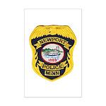 Newport MN Police Mini Poster Print
