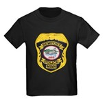 Newport MN Police Kids Dark T-Shirt