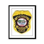 Newport MN Police Framed Panel Print