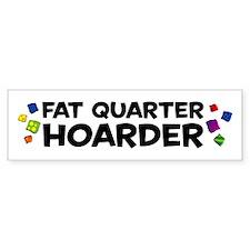 Quarter Hoarder Car Sticker