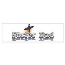 Surfer Dad Bumper Sticker