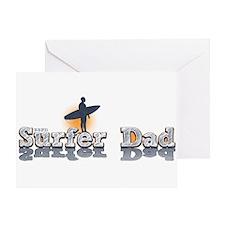 Surfer Dad Greeting Card
