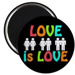 Rainbow Love Magnet