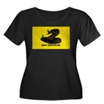 Don't Tread on Me! Women's Plus Size Scoop Neck Da