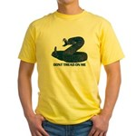 Don't Tread on Me! Yellow T-Shirt