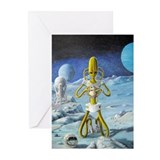 Alien Skull Greeting Cards (Pk of 10)