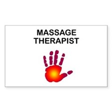 Massage Therapist Decal