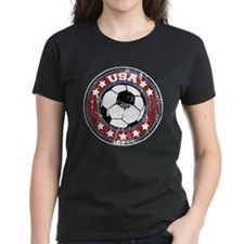 USA Soccer (distressed) Tee