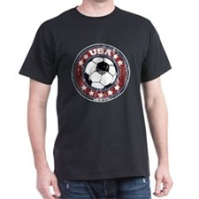 USA Soccer (distressed) T-Shirt