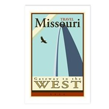 Travel Missouri Postcards (Package of 8)