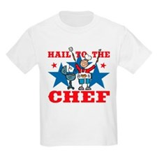Hail To The BBQ Chef T-Shirt