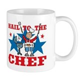 Hail To The BBQ Chef Coffee Mug