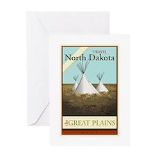 Travel North Dakota Greeting Card