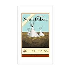 Travel North Dakota Decal