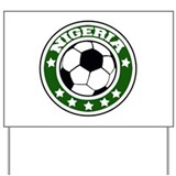 Nigeria Soccer Yard Sign