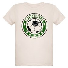 Nigeria Soccer (distressed) T-Shirt