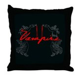 Vampire Blood Dance Throw Pillow