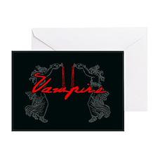 Vampire Blood Dance Greeting Card
