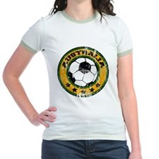 Australia Soccer (distressed) T
