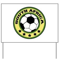 South Africa Soccer Yard Sign
