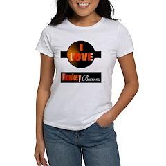 Love Monkey Business Women's T-Shirt